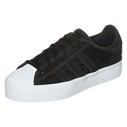 adidas Superstar Rize Sneaker donna, (Nero / Bianco), 6.5 UK - 40 EU