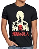 style3 Titan Fight Camiseta para Hombre T-Shirt Aot on Attack, Talla:L