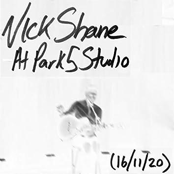 At Park 5 Studio (16/11/20)