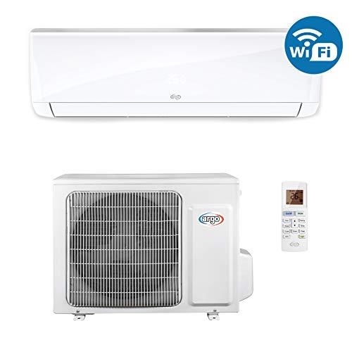 ARGO Ecowall 12 Climatizzatore Fisso, DC Inverter, con WiFi, con Pompa di Calore, Bianco, 12000 BTU/h