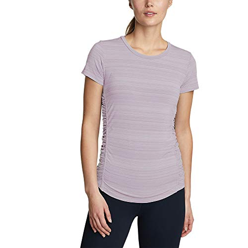 Eddie Bauer Women's Trail Light Short-Sleeve T-Shirt, Dusty Lavender Regular M