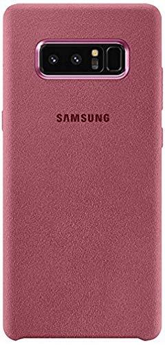 Samsung Mobile Alcantara Cover Custodia Compatibile con Samsung Galaxy Note 8, Rosa
