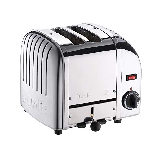Dualit Classic 2 Slice Vario Toaster - Stainless steel, hand built in the UK -...