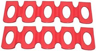 Foldable Wine Bottle Rack Organiser Holder Mat Fridge Silicone Pads Bottle Stacking Mat Storage Shelf