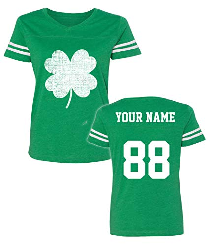 Custom Jerseys St Patrick's Day T Shirts Saint Pattys Jersey Tee & Irish Outfits