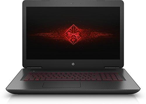 OMEN by HP OMEN 17-w102nl Notebook, Intel Core i7-6700HQ, RAM 16GB, HDD da 1TB + SSD da 256GB, Scheda Video NVIDIA GeForce GTX 1070A con 8GB Fedicati, Full HD IPS WLED da 17.3 Pollici, Nero