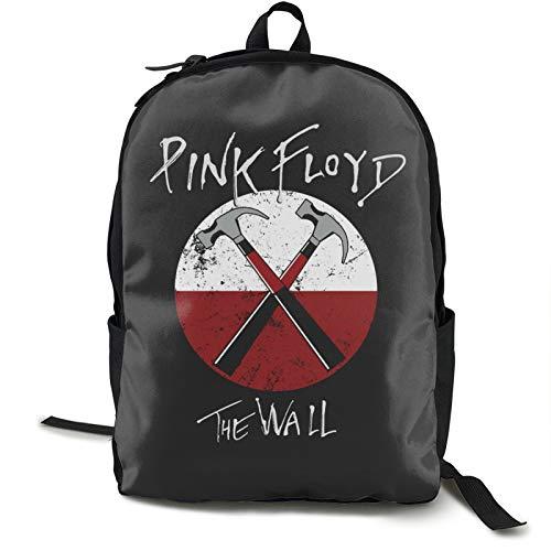 Pink Flo-yd and Rick Mochila de viaje para portátil y portátil, mochila...
