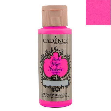Cadence Pintura Textil Fluorescente Rosa 59ml