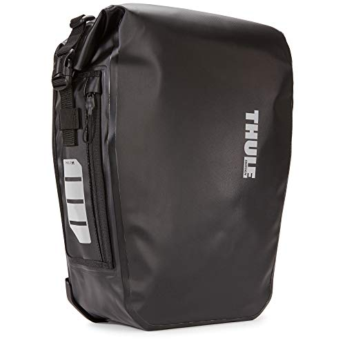 Thule Shield Pannier 17L-Black Bags For Bicycle, standard size