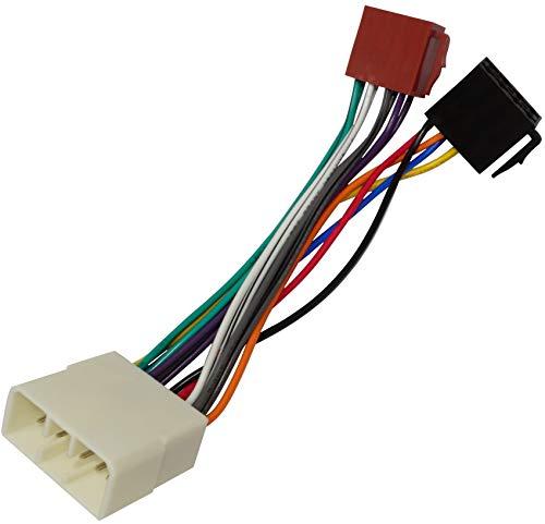 AERZETIX - C4464 - Adapter - kabel radioadapter - radio kabel - stecker ISO - kabel verbindungskabel
