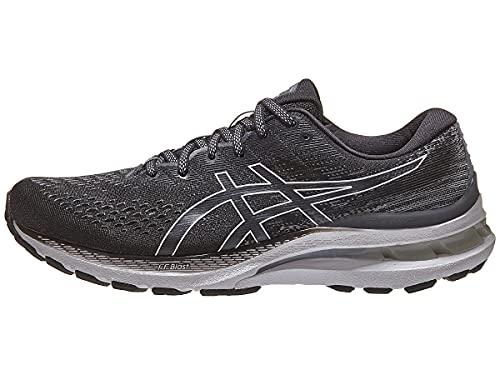 ASICS Men's Gel-Kayano 28 Running Shoes, 11, Black/White