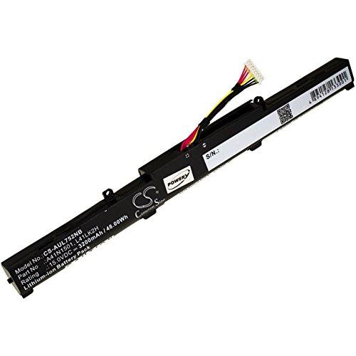 POWERY Batteria per Portatile ASUS N552VW-FI202T