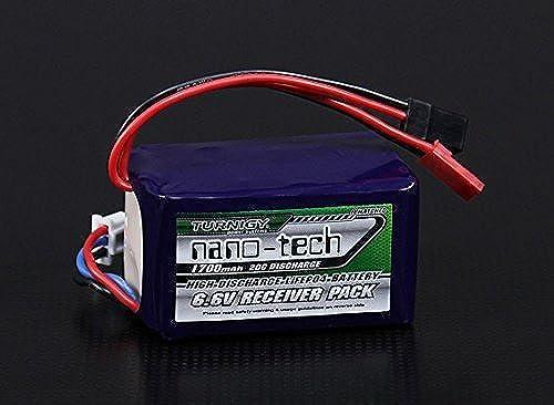 barato Turnigy nano-tech 1700mAh 2S1P 2040C LiFePo4 Receiver Pack by Turnigy Turnigy Turnigy  compra en línea hoy