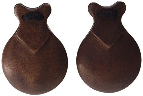 Jale 2054 - Castañuelas pulidas, color caoba