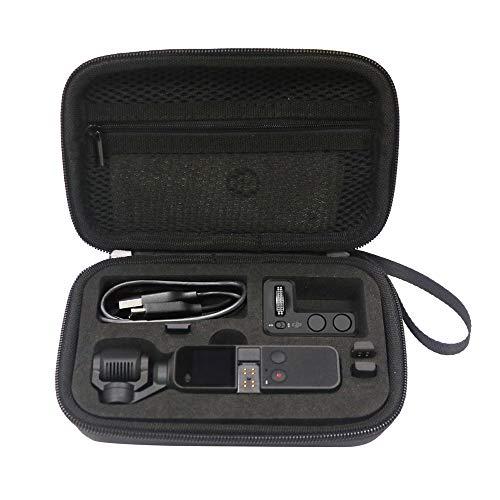 Rantow Etui à Coque Dure pour Sac à Main étanche pour DJI Osmo Pocket Accessoires de boîte de Rangement Portable pour caméra portative pour nacelle