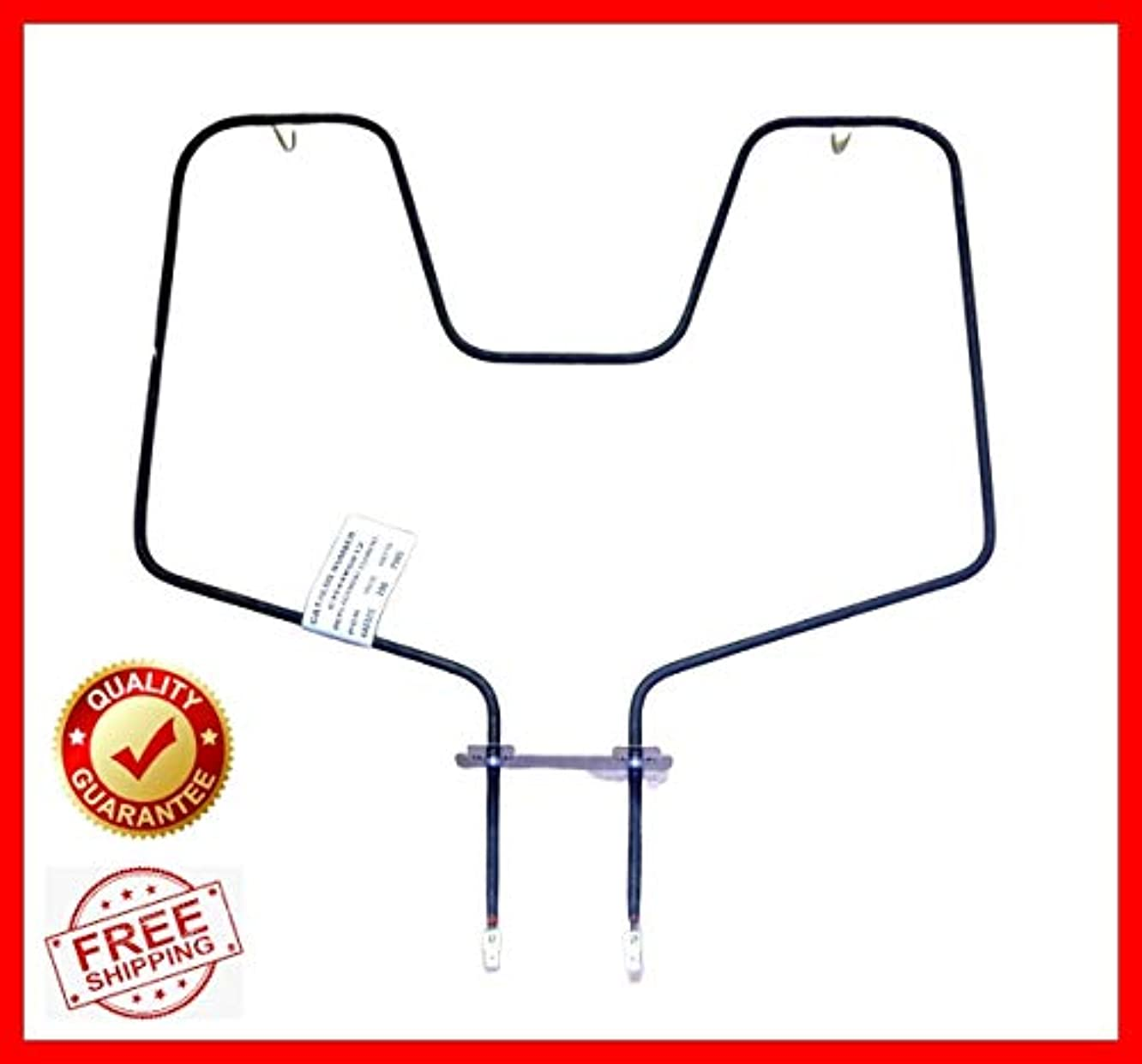 WB44K5012 for GE Electric Range Oven Bake Unit Lower Heating Element PS249247