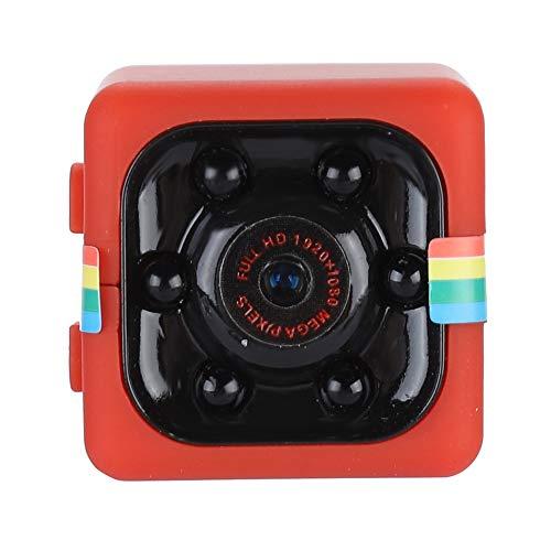 Cámara de acción Deportiva Full HD 1080P, Mini cámara espía con visión Nocturna de 12 M, micrófono Incorporado, grabadora de Video con reducción de Ruido con Soporte Giratorio de 360 °