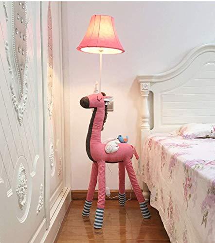 Lampadaires Dessin Animé Chambre Lampadaire Licorne Moderne Lampe De Chevet Minimaliste Enfants Créative Étude De Vie Décoration Verticale Lampe De Table,Rose