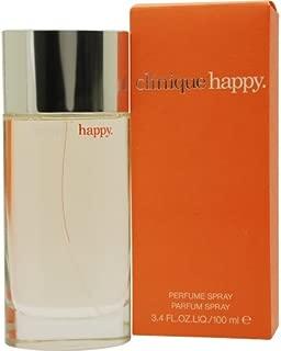 Happy by Clinique Eau De Parfum Spray women,3.4 Fl Oz, Pack of 1