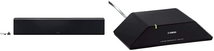 Yamaha YSP-5600BL 7.1.2-Channel Dolby Atmos MusicCast Sound Bar & 6 Wireless Subwoofer Kit