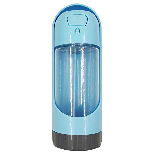 ウォーターボトル ペット用水筒 フィルター付き pp001els ペット用水筒 ブルー