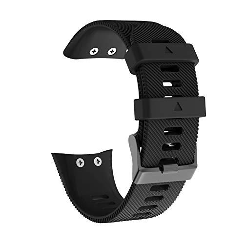 RYRA Correa de reloj de silicona compatible con Garmin Forerunner 45S, bandas de repuesto para pulsera de actividad deportiva para mujeres y hombres