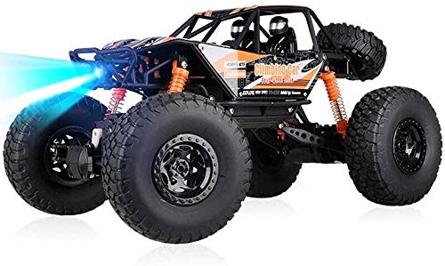Zhangl Großes 1.14 RC Fernsteuerungsauto-Spielzeug Monster Truck RC Buggy 2.4Ghz 4WD 48m Distanz Desert Race Crawler Off Road Electric Vehicle Radio Controlled Auto High Speed ​​Boy Hobby-Feiertags-Ge
