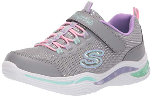 Skechers Kinder Low S Lights-Power Petals Sneaker 20202L-gymt grau 699793