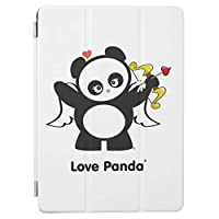 RECASO愛 パンダ iPad2/iPad3/iPad4 用 スマートカバー ケース ipad2 ケース アイパッド ipad3 ケース ipad4 三つ折り保護カバー TPUケース ソフトケース