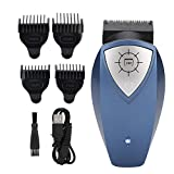 V BESTLIFE Hair Clippers, Professional Men Self-Service USB Electric Hair Clipper Trimmer Low Noise Hair Shaver Machine Tool for Barbers/Home Use (USB Charging)