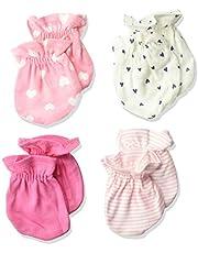 4 أزواج من القفازات للفتيات الرضع من جربر