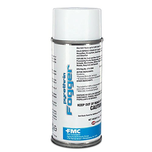 PCO Products Pyrethrin Fogger Bomb 1 Case 12 Cans X 5 oz. ea. 655030