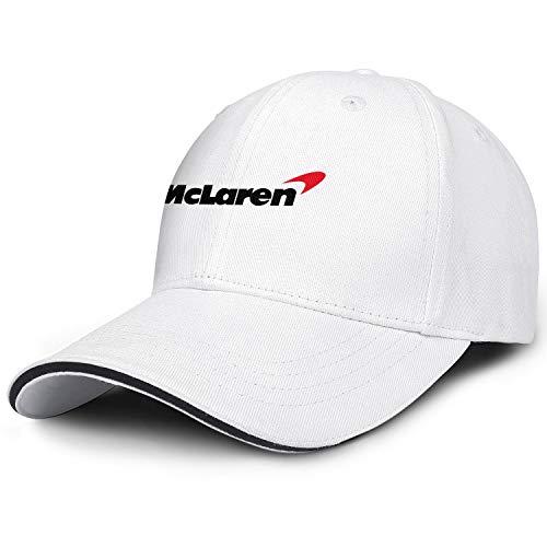 Verodley Unisex McLaren Hat Breathable Mesh Back Baseball Caps Adjustable Dad-hat Trucker Hat