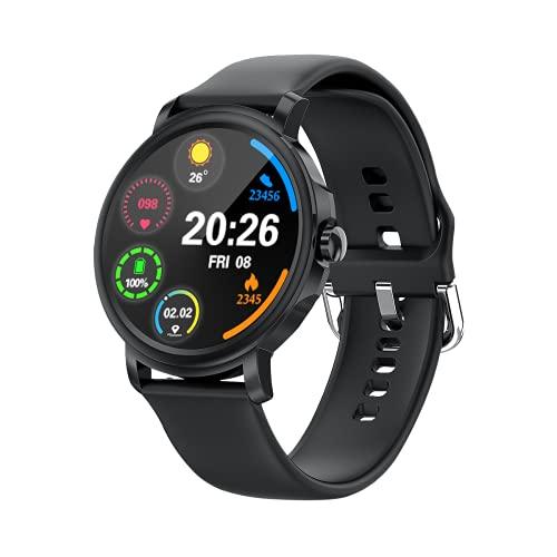 Reloj inteligente GW23, IP67, resistente al agua, con pantalla HD de 1,28 pulgadas, podómetro, contador de calorías, pulsera deportiva Bluetooth para niños y adultos