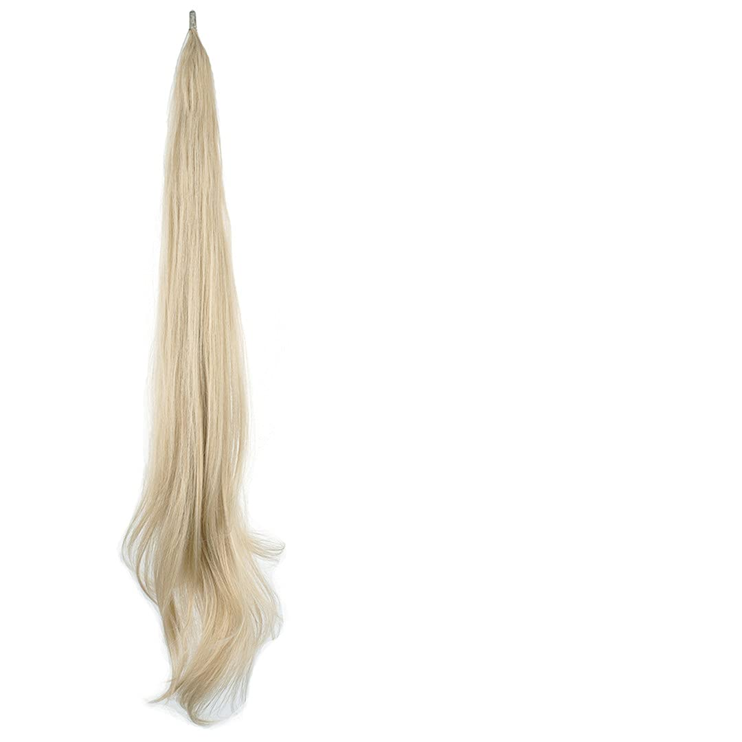 Long Layered Ponytail shop Synthetic Hair Dirty online shop Blonde Pony Extension