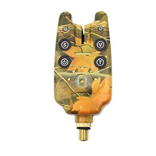 Angeln Bissanzeiger Blau Led-fischen-indikator Wasserdicht-ton-Alarm Für Angel Tarnung Batterie Nicht Eingeschlossen 1pc