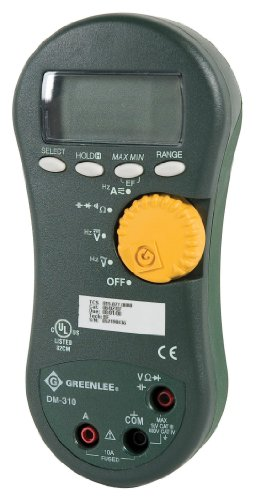 Greenlee DM-310 Averaging Digital Multimeter, 1000-Volt 10A AVG