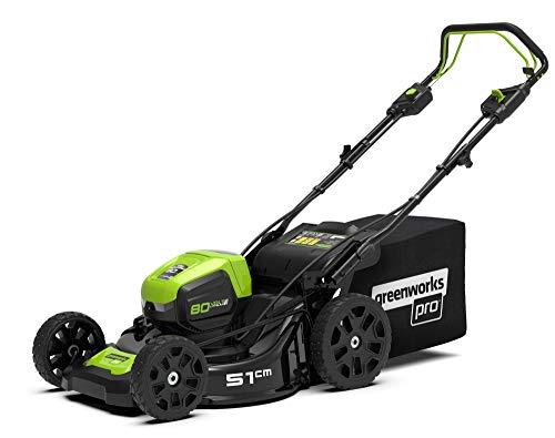 Greenworks 80 Volt accu grasmaaier GD80LM53 zonder accu en oplader