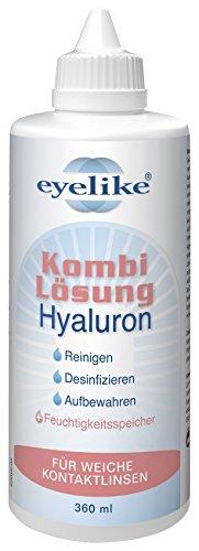 Eyelike Kombilösung Hyaluron 360 ml