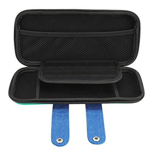 DAUERHAFT Bolsa de Almacenamiento de Espuma Resistente a los Golpes Bolsa para Host de Juegos EVA A Prueba de rayones, para Joy Cons, Cables, Consolas de Juegos, para Switch Game Host(Green)