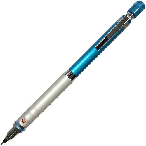 Uni Kuru Toga High Grade Auto Lead Rotation 0.5mm Mechanical Pencil, Blue Body (M510121P.33)