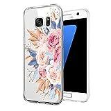 Compatible avec Samsung Galaxy S6 - Coque Crystal Clea Soft TPU Silicone Transparent Ultra Fine -...