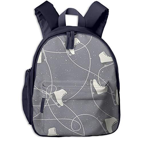 Kinderrucksack Kleinkind Jungen Mädchen Kindergartentasche Eislaufschuhe Winter Backpack Schultasche Rucksack