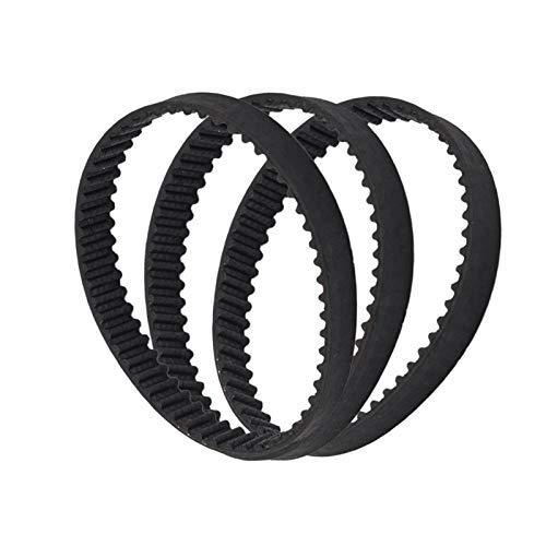 WNJ-TOOL, 1pc 3D-Drucker Gürtel Closed Loop Rubber GT2 Zahnriemen 2GT-6 200mm 110/200/280/300/400/610/852 Breite 6mm for UM2 Ultimaker Slider (Farbe : 1pc, Größe : 200mm)