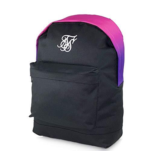 SikSilk Gradient Mochila – Tri Fade Pink – Regreso a la escuela – Bolsa de viaje y día