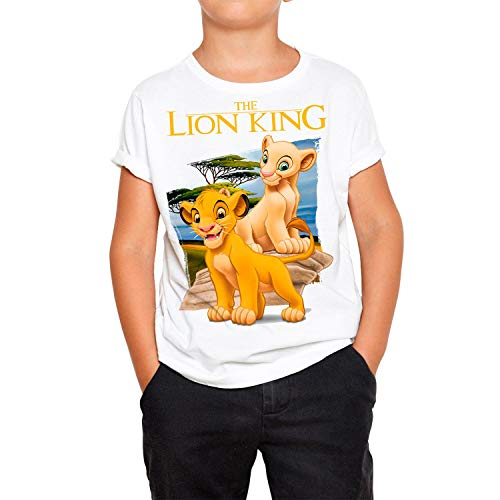 Camiseta Cine Niño - Unisex El Rey...