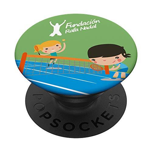 PopSocket oficial Fundación Rafa Nadal PopSockets PopGrip: Agarre intercambiable para Teléfonos y Tabletas