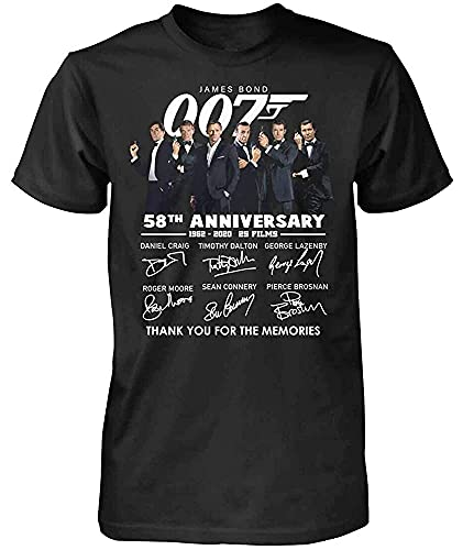 MOPUY Sean Connery James Bond 007 Thank You for The Memories Shirt