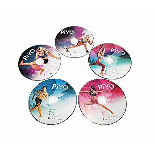 PiYo Base Kit,Pilates Yoga Workouts Fitness Program,DVD Workout with Exercise Videos + Fitness Tools and Nutrition Guide