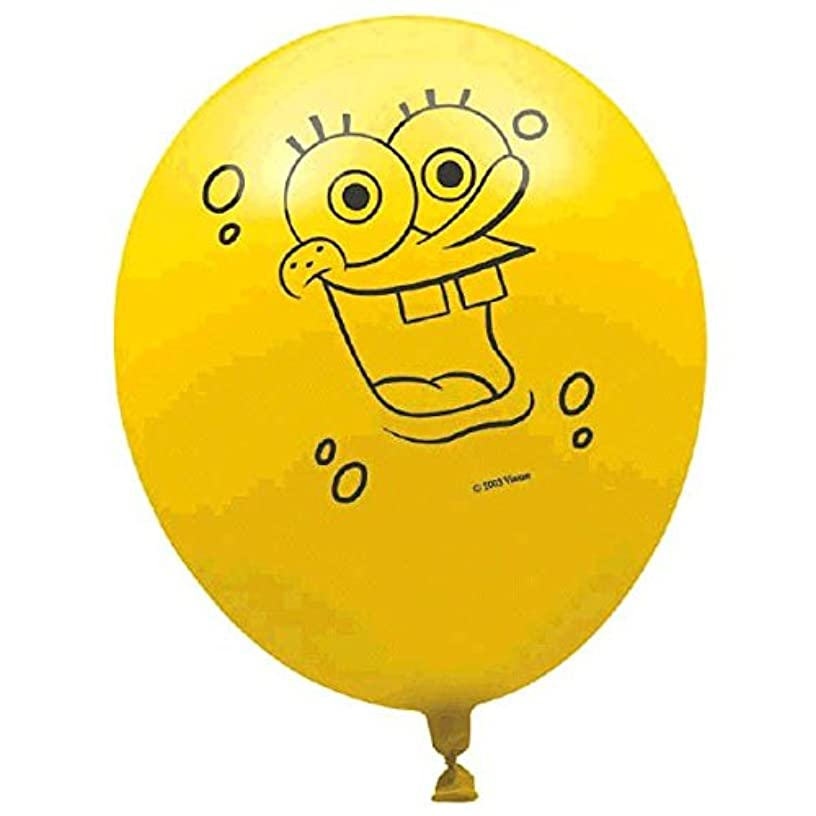 Printed Latex Balloons | SpongeBob Collection | Party Accessory